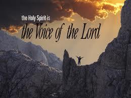 voice of Holy SPirit