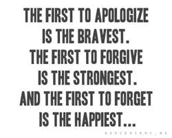 Strong people, Forgive