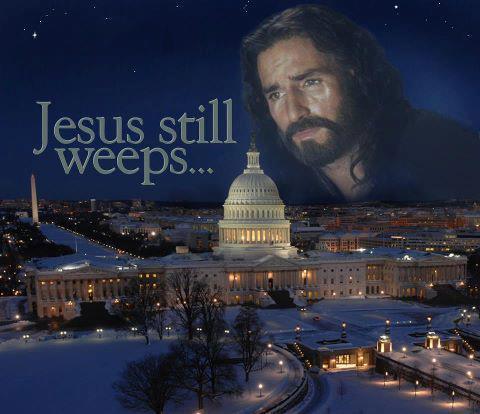 Jesus Weeps