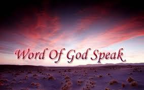 God still speaks, through His Word!