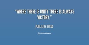 unity victory