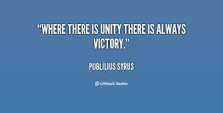 unity victory