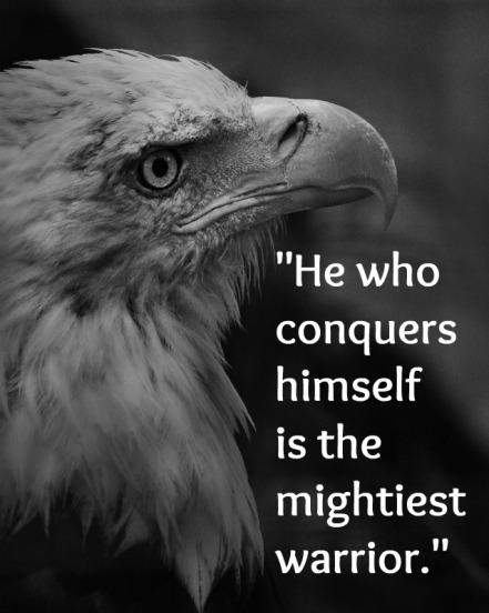 conquers himself