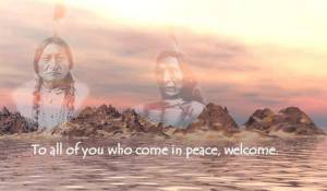 peace welcome