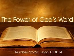 God's Word Has Power! May Your life Demonstrate it!