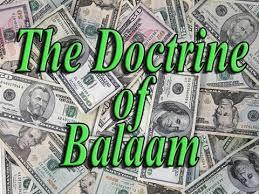 Balaam doctrine