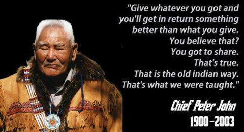give chief