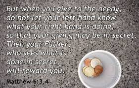 Give poor