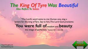 origin king of Tyre