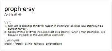 prophecy definition