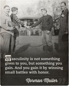 manhood battle with honor