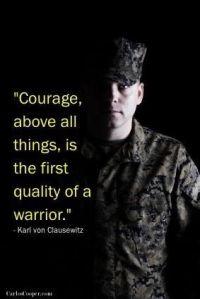 manhood courage