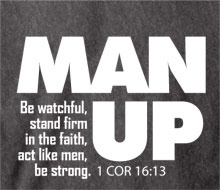 manhood man up