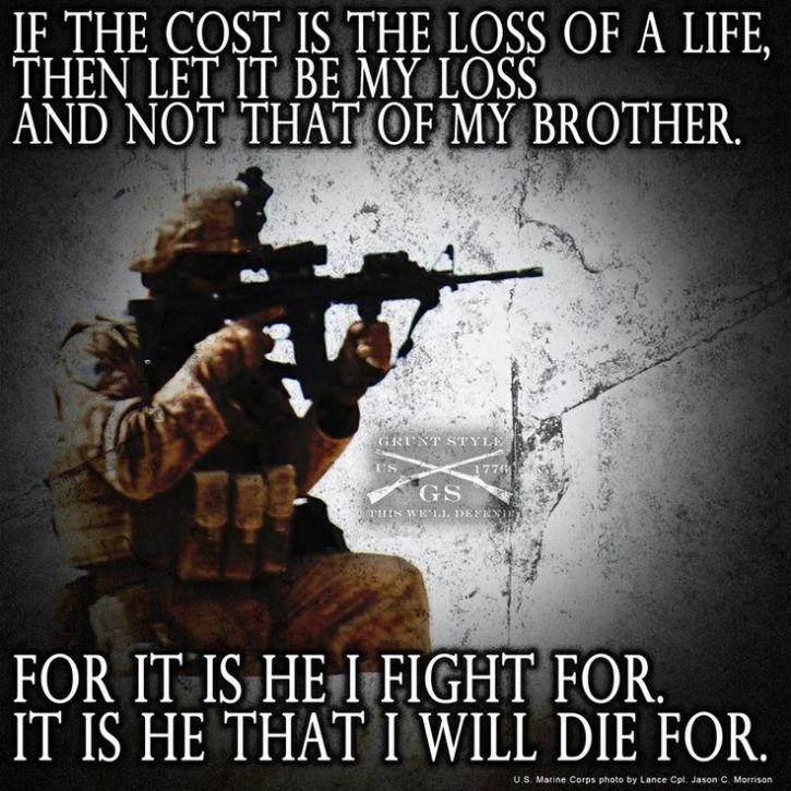 warrior sacrifice