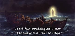courage Jesus