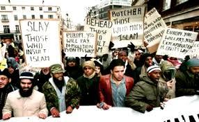 Islam protest