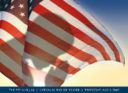 flag pray