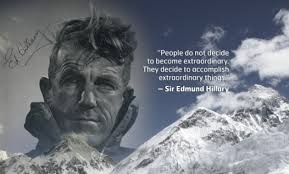 tenzing hillary quote