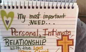 intimate need