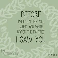 I saw