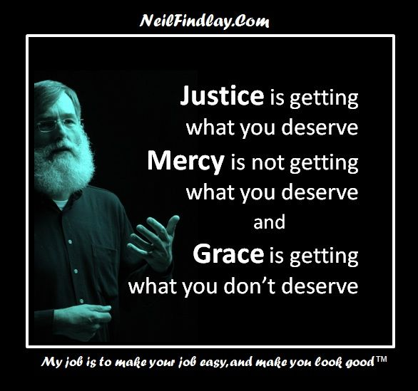 justice mercy grace