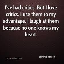 laugh critics