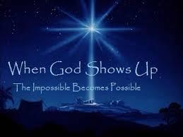 God shows up