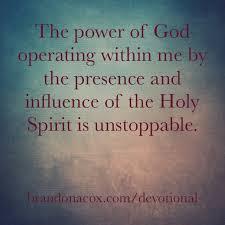 power Holy Spirit