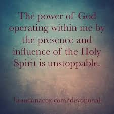 power Holy Spirit