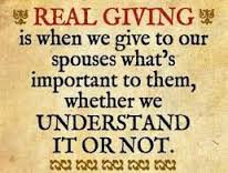 marriage giving