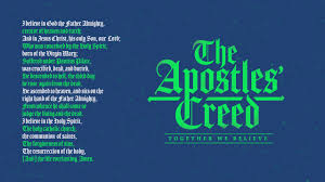 apostles creed unity