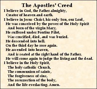 The Apostles Creed – A Platform for Christian Unity ...