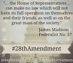 28th Amendment James Madison