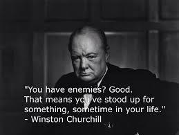 enemies churchill