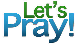 Lets pray