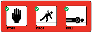 Stop Drop Roll