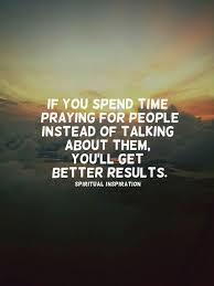 pray no gossip
