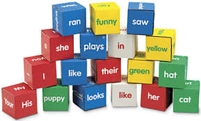 word blocks