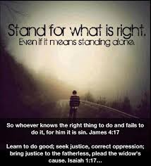 stand for right