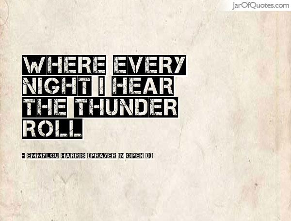 prayer-thunder
