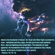 thundered