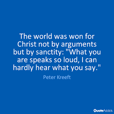 sanctity