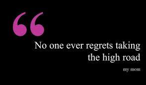 high-road-regrets
