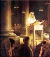 Jesus preached