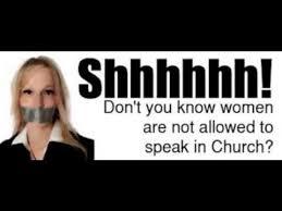 speak in church