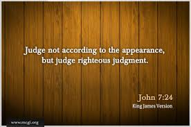judge righteous by Holy Spirit