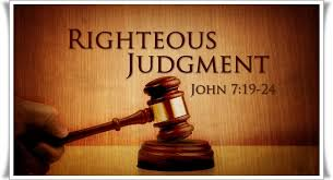 judge righteous