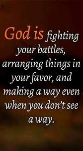God fighting